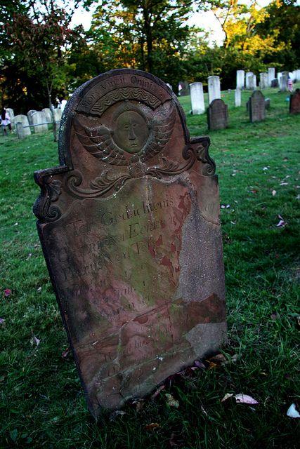 Katrina Van Tassel's grave at Sleepy Hollow Cemetery, Tarrytown, NY  Catriena Ecker Van Tessel: Katrina was the girl that Ichabod Crane fancied in The Legend of Sleepy Hollow