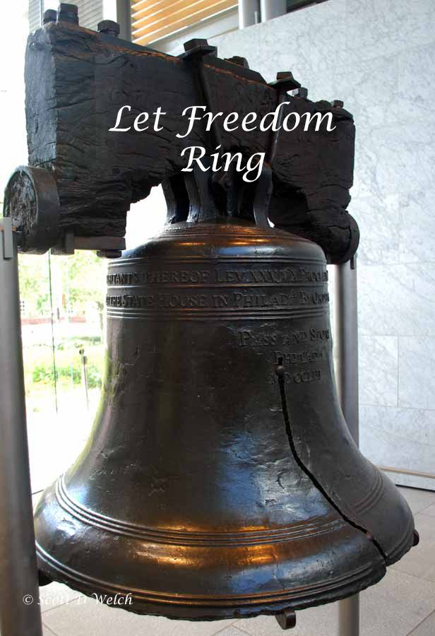 The Liberty Bell has a long and wonderful patriotic history