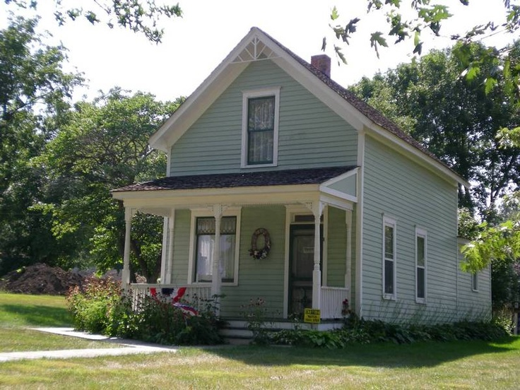 Glenn Miller's birthplace in Clarinda, IA