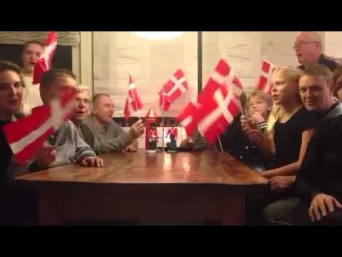 Den Danske Fødselsdag Sang - YouTube. A very old song we are singing for each child how is celebraiting the birthsday.