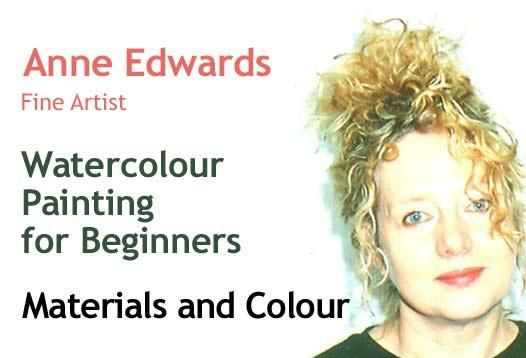 """Micro-course """"Watercolour Painting for Beginners. Materials and Colour"""" by Anne Edwards https://coursmos.com/course/watercolour-painting-for-beginners-materials-and-colour #Hobbies & Crafts @coursmos"""