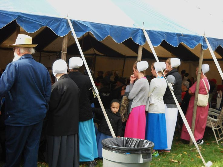 Wooly Worm Races @ Charm Days in Holmes County, Ohio 10/10/14
