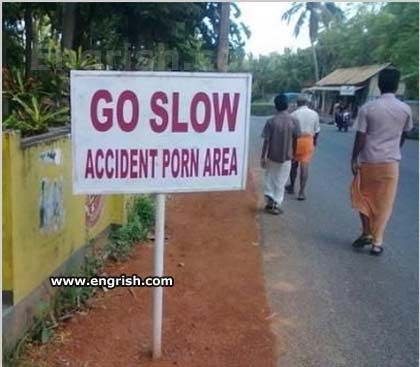 Porn - it's never an accident: Funnies Pictures, Funnies Photo, Funny, Street Signs, Humor, Porn Area, Accidents Porn, Funnies Stuff, Funnies Signs
