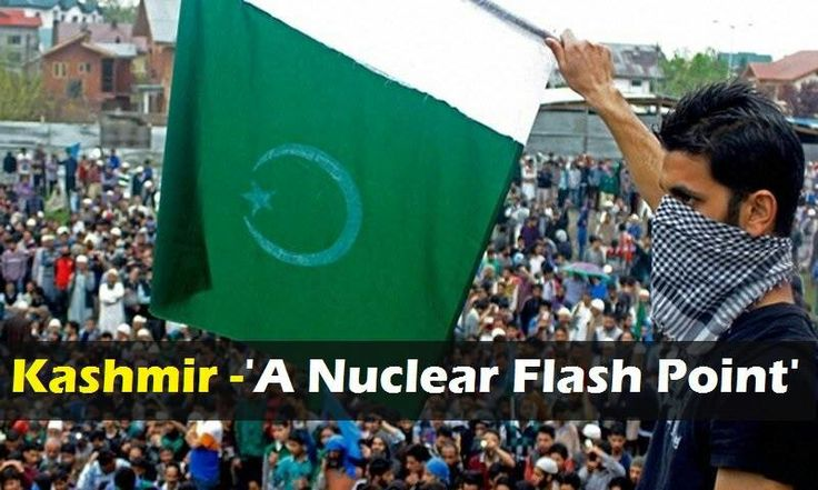 #Kashmir - ' A #Nuclear #Flash #Point ' . - #Pakistan , #India #NuclearWar: The #SOONER The #India #Attacks #Pakistan The #SOONEST the  #New #Countries ; #Khalistan , #Manipur , #Nagaland , #Assam , #ArunachalParadesh , #NorthEastIndia and #Kashmir will  #emerge on the #Map of #World , And #India and #Israel will #Vanish for #EVER  . --- #PakArmy are #WARRIORS of #Allah . #Pakistan is a #Nuclear #Power and #Knows , #How to #Defend #itself, #Defeat it #Enemies and to #HUNT #Big #Terrorist…