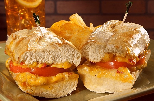 Newk's Toasted Pimento Cheese Sandwich is The Answer... does it really matter what the question is?