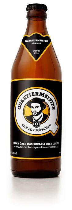 Bier QUARTIERMEISTER  innvoller ist Bier noch nie getrunken worden. Quartiermeister ist das Bier für hier. Mit jeder Flasche Quartiermeister trägst du zur Förderung sozialer und kultureller Initiativen und Projekte in Berlin und München bei