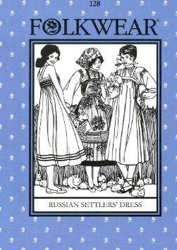 folkwear 128 russian settlers - Google Search