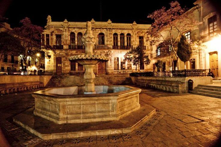 Plaza de Armas.Zacatecas, México.