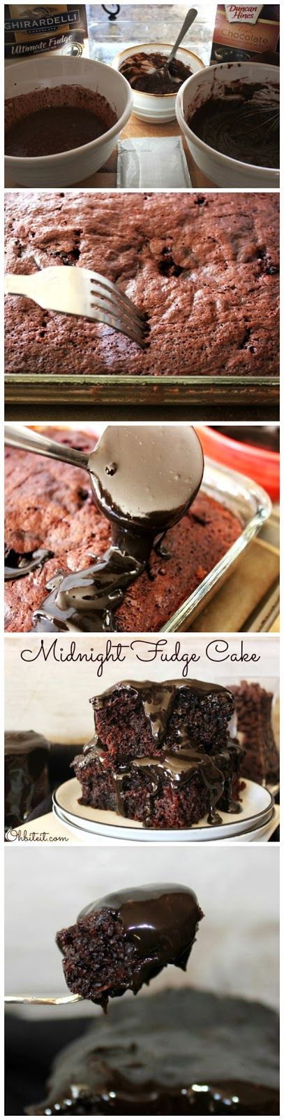 Red Star Recipe: Midnight Fudge Cake