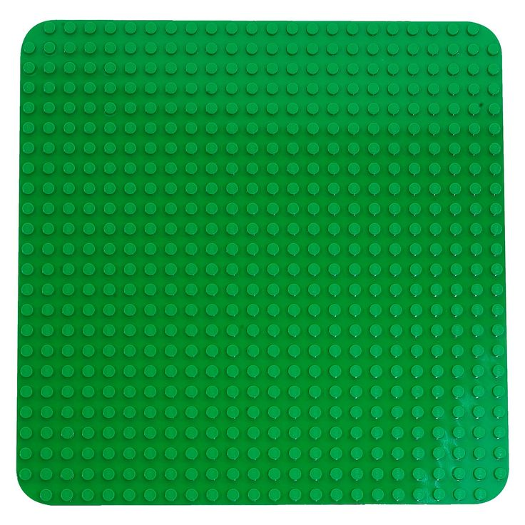 """<p>LEGO® DUPLO® My First Large Green Building Plate 2304<br />Large format allows child to build and expand on the world he or she has created.<br />• Measures 15"""" (38.1cm) x 15"""" (38.1cm)<br />• Bricks not included.</p>"""