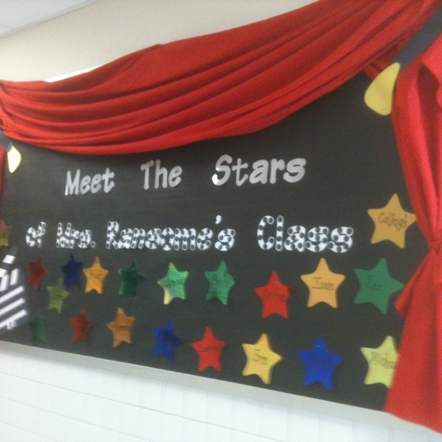 Welcome to Kindergarten bulletin board.