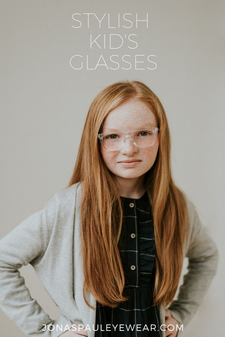 c0159595ba3 The Joyce Frame in Clear    Children s eyewear for stylish kids. These  girls and boys prescription glasses are easy to purchase online