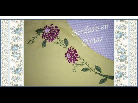 ♥ Bordado en cintas ♥ Delantal de cocina ♥ N°2 ♥