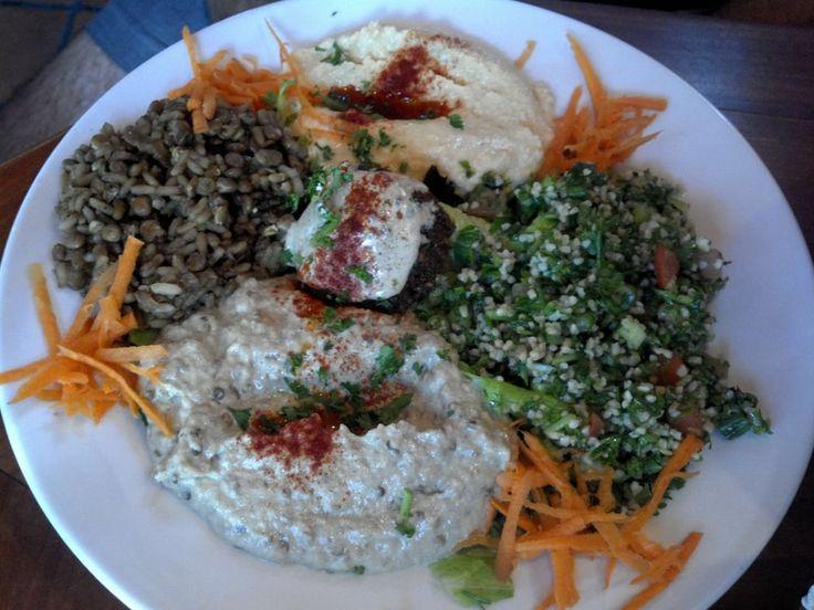 Boston- Combination Salad Plate        Photo of Algiers Coffee House - Cambridge, MA, United States. Combination Salad Plate