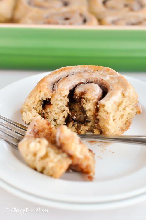 Gluten Free Cinnamon Rolls Recipe | Allergy Free Alaska