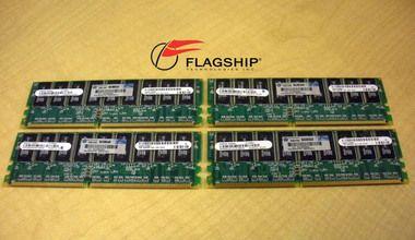 HP A9909A 2GB DDR SDRAM MEMORY 4 X 512MB
