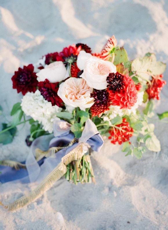 Autumnal wedding flower inspiration ~ Philosophy Flowers & Heather Payne Photography - Wedding Sparrow - Fall Wedding Bouquet - Charleston, SC