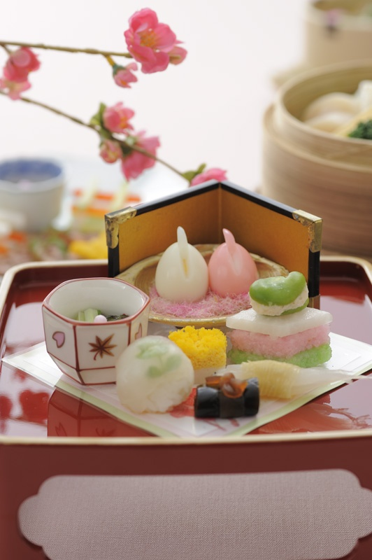 Spring kaiseki cuisine