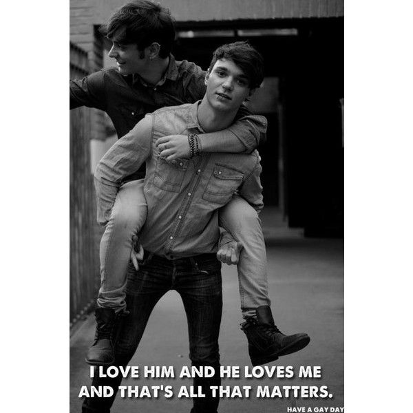 Cute Gay Couples! ❤ liked on Polyvore featuring couples and gay couple