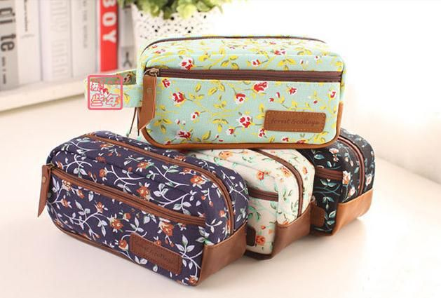 2014 new  Stationery vintage large capacity brief denim canvas pencil case pencil bag-inPencil Cases from Office & School Supplies on Aliexpress.com | Alibaba Group