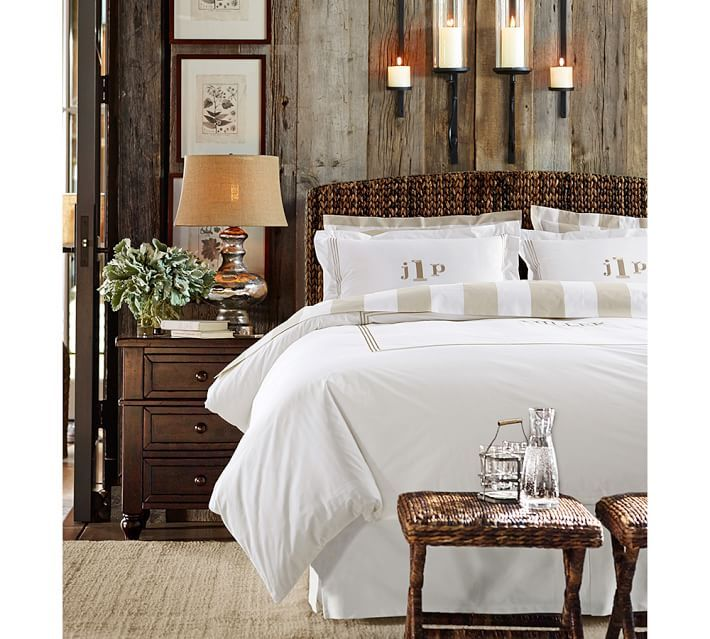 **1** Entirely Gorgeous** Seagrass Bed & Headboard | Pottery Barn