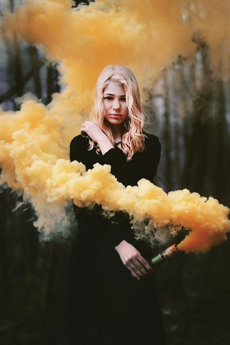 smoke bomb photography - Google Search