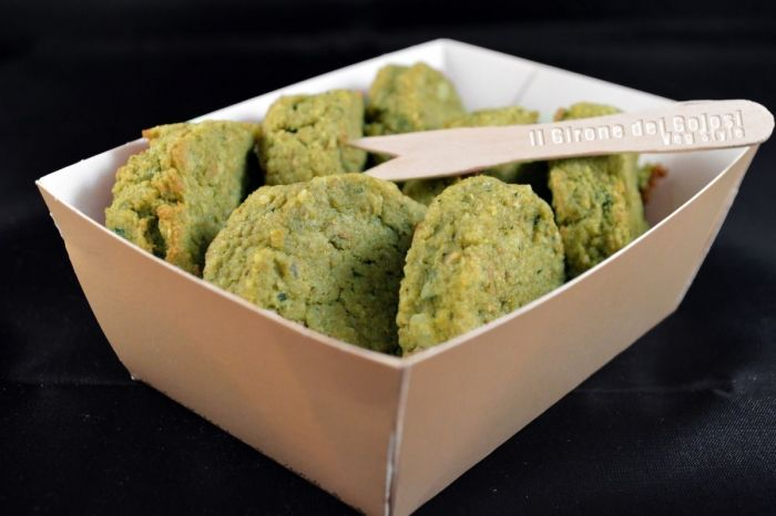 Polpette di Broccoli Mandorle e Noci