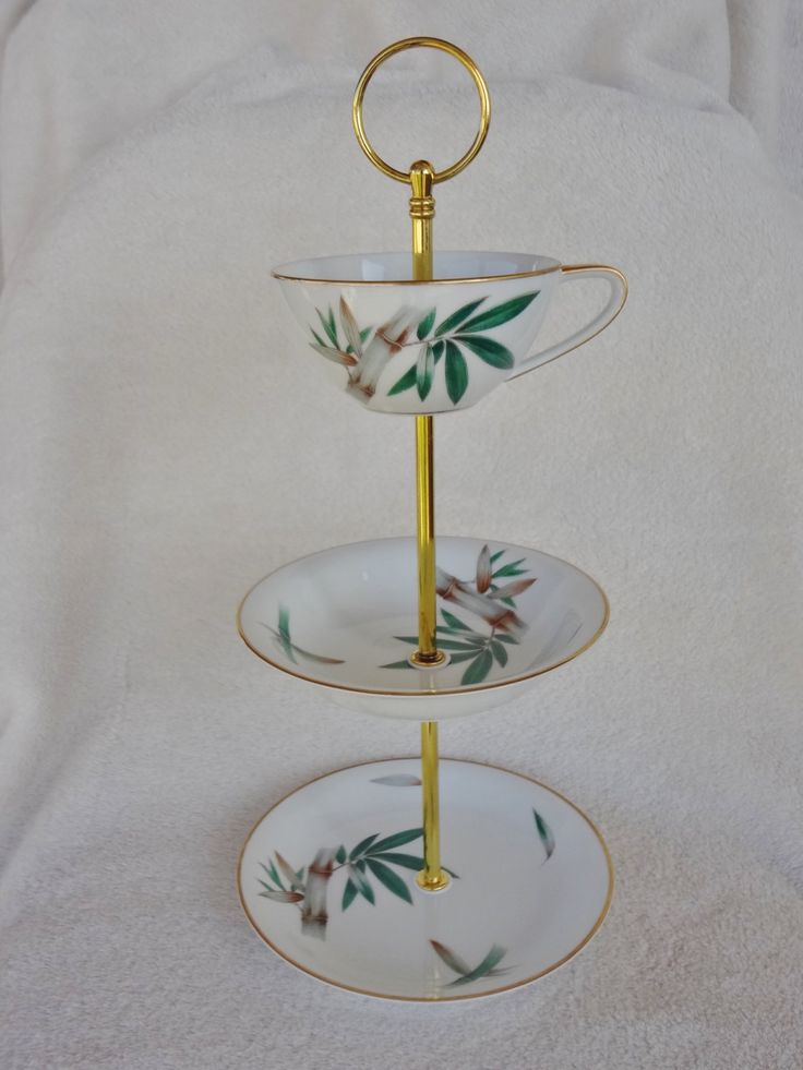 Vintage Noritake Canton China Plates, China Stand, Jewelry Stand by AlayRayVintage on Etsy