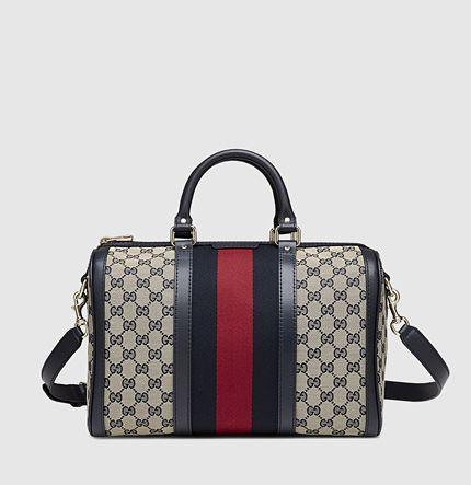 Gucci-Boston bag. Prettier than the LVSpeedy!! Maybe ...