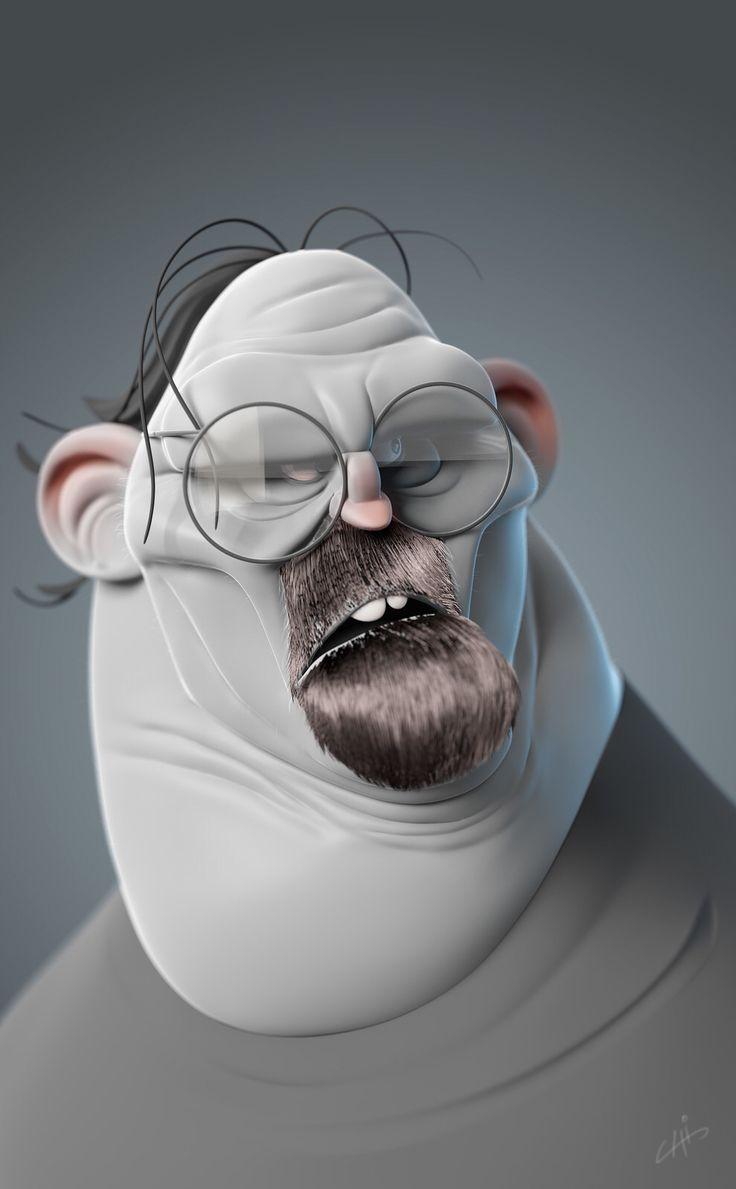 Yury Muzyrya: 17 Best Images About 3D Character {Cartoon} On Pinterest