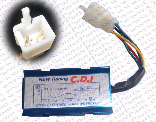 Racing 5 Pins one Squre Plug AC CDI Box 50CC 70CC 90CC 110CC 125CC 140CC Pit Dirt Bike ATV Quad Parts
