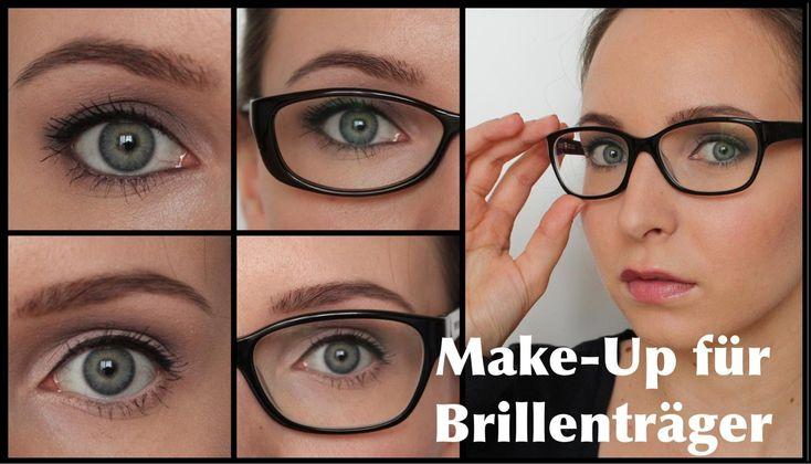 Make-Up für BRILLENTRÄGER /  Augen größer/kleiner schminken