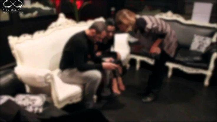 SILVERSNAKE MICHELLE - Backstage Photo Shooting, set photo by massimo santo ,video back stage by grazia leonardi,make up e hair stylist :me
