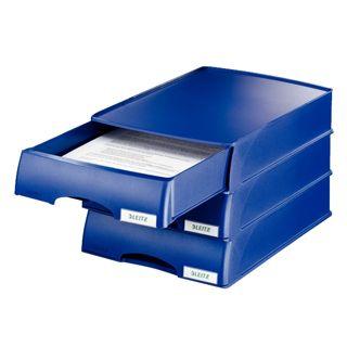 Leitz Brievenbak Plus Lade blauw
