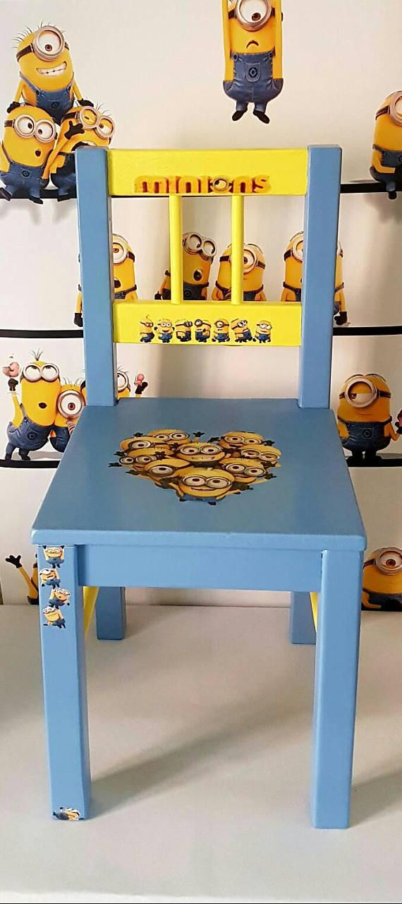 Check out this item in my Etsy shop https://www.etsy.com/uk/listing/543992733/ooak-handpainted-minions-childrens-wood