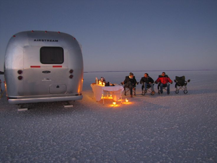 The unusual yet brilliant airstream trailers that you explore the Uyuni Salt Flats of Bolivia in!