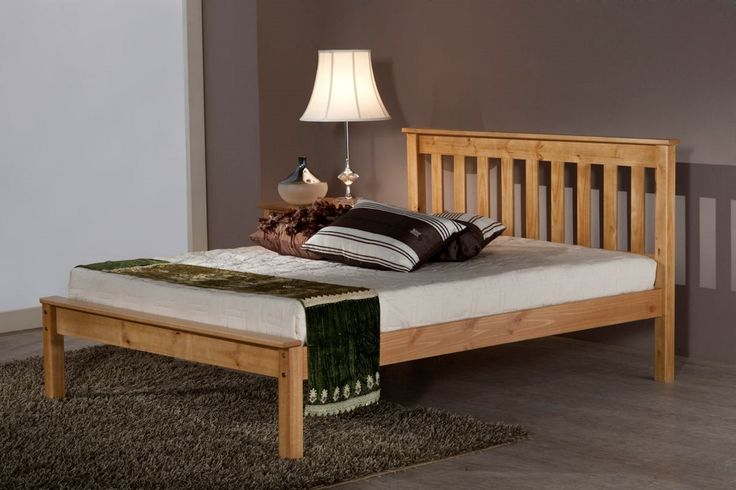 5ft Dover Antique Pine Bed Frame - £299.95 - A new superb quality wooden bed frame with a Antique Pine finish. Not a cheap wooden bed frame, it is a very good quality wooden bed frame! Chunky and substantial with excellent quality finish and attention to detail.