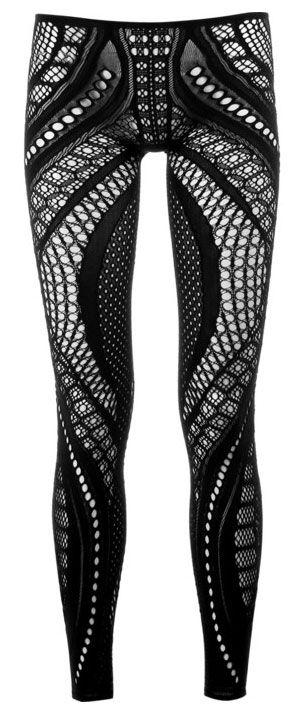 more cool leggings!  (alexander mcqueen)
