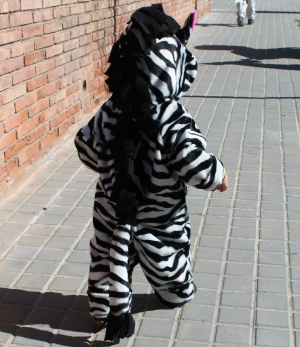 Disfraz de cebra: La Pantigana
