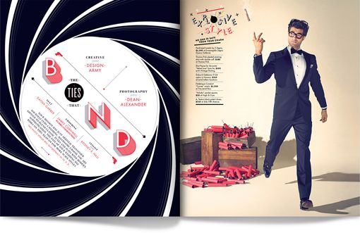 Matt Chase: The Ties That Bond Editorial Design