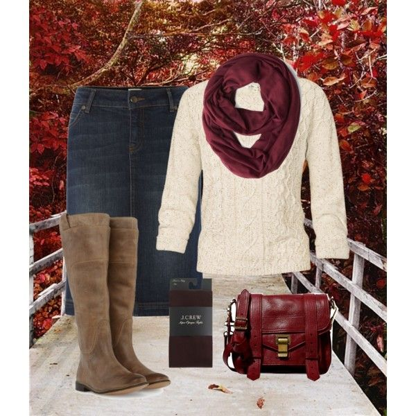 Autumn outfit! Loving the skirt and boots!!