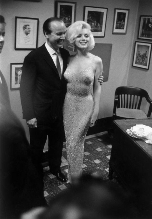 Marilyn Monroe at President Kennedy's Birthday Party, 19th May 1962, at the Madison Square Garden.