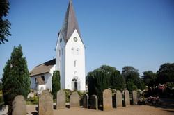 St Clemens-Kirche in Nebel, Amrum