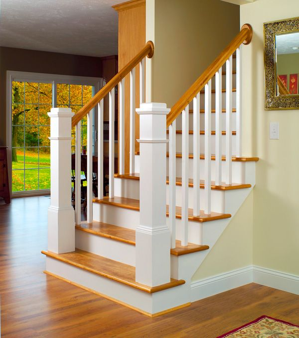 Stairway #13 features LJ-5060 Balusters, LJ-4091 Box Newels, LJ-6010P Handrail, and LJ-7027 Rosettes.