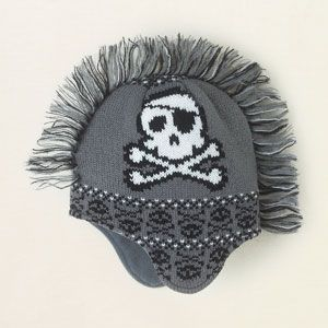 baby boy - accessories - skull mohawk hat | Children's Clothing | Kids Clothes | The Children's Place