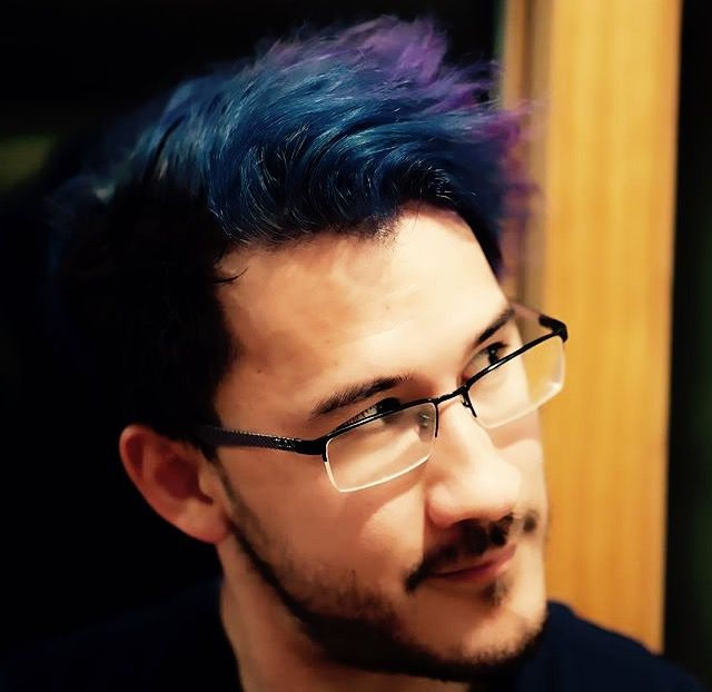 markiplier blue hair ideas