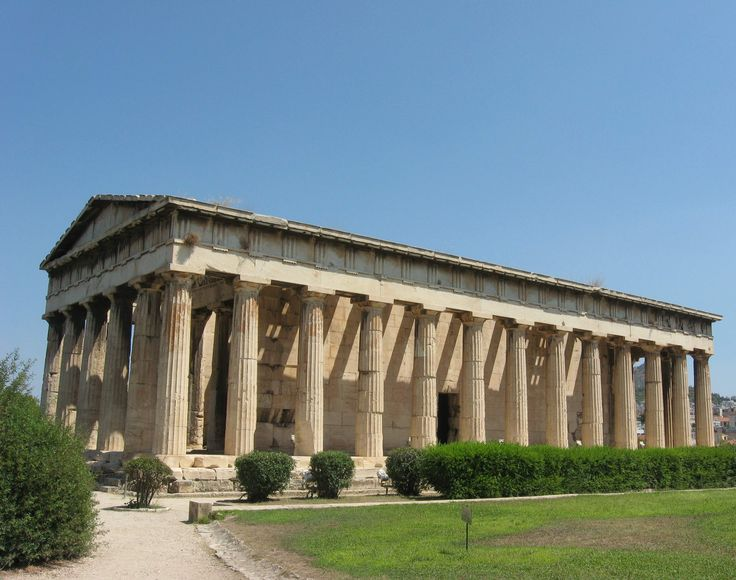 Athens.The Temple of Hephaestus (449-414 BCE)