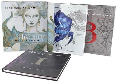 Previously available only as a part of the now sold-out The Sky: The Art of Final Fantasy Boxed Set,Dark Horse is pleased to offer fans another chance to own the three-book hardcover set The Sky I, II, and III, included in the new The Sky: The Art of Final Fantasy Slipcased Edition! #art #book