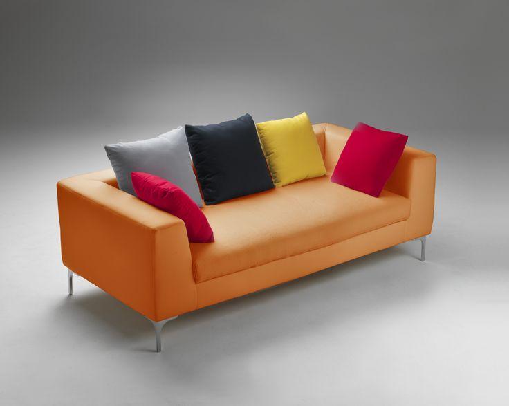 Divano arancione ~ Oltre fantastiche idee su design divano su divano