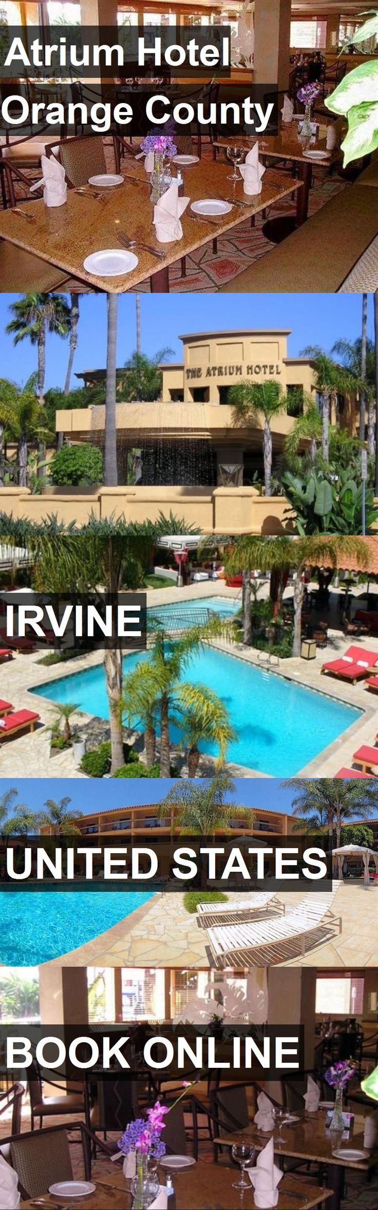 Hotel Atrium Hotel Orange County in Irvine, United States. For more information, photos, reviews and best prices please follow the link. #UnitedStates #Irvine #hotel #travel #vacation
